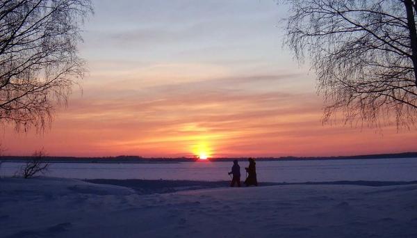 Селигер зима фото