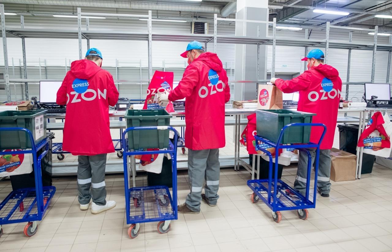 В Тверской области заработал Ozon Express