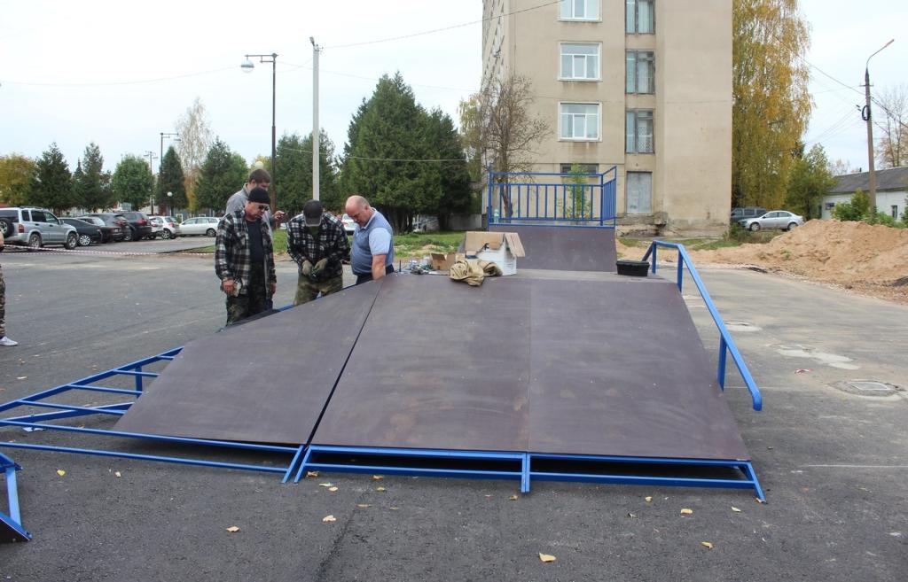 В Вышнем Волочке Тверской области скоро откроется скейт-площадка - новости Афанасий