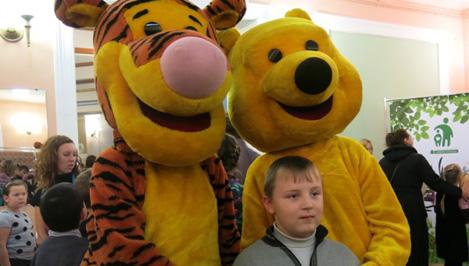 Дети с ограниченными возможностями побывали на премьере спектакля «Карлик Нос» в тверском ТЮЗе