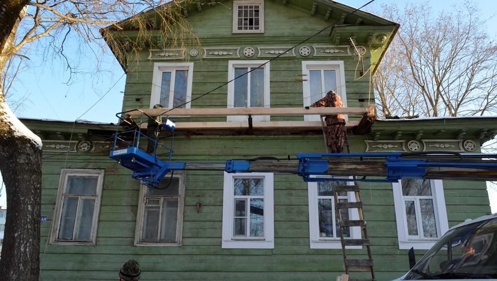 В Бежецке Тверской области приводят в порядок исторический особняк - новости Афанасий