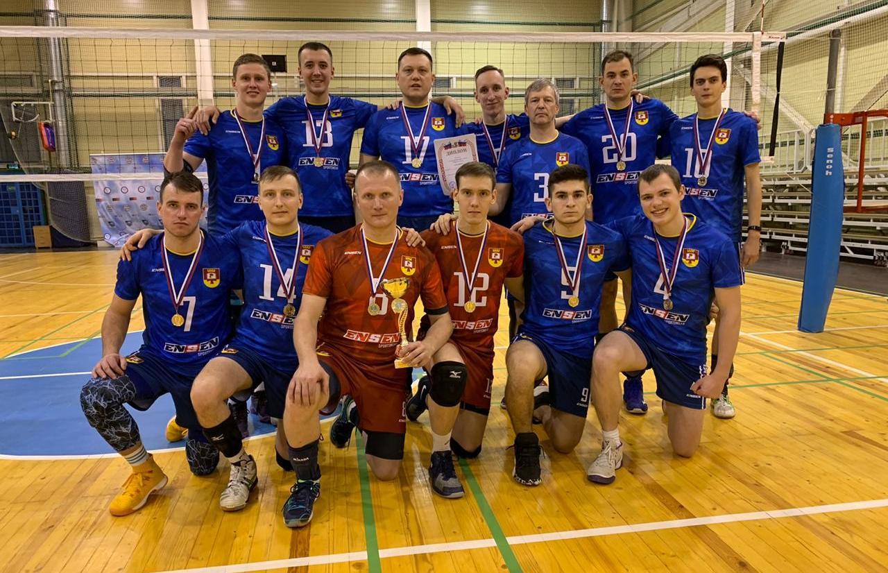 Волейболисты ТвГТУ завоевали золото чемпионата области - новости Афанасий