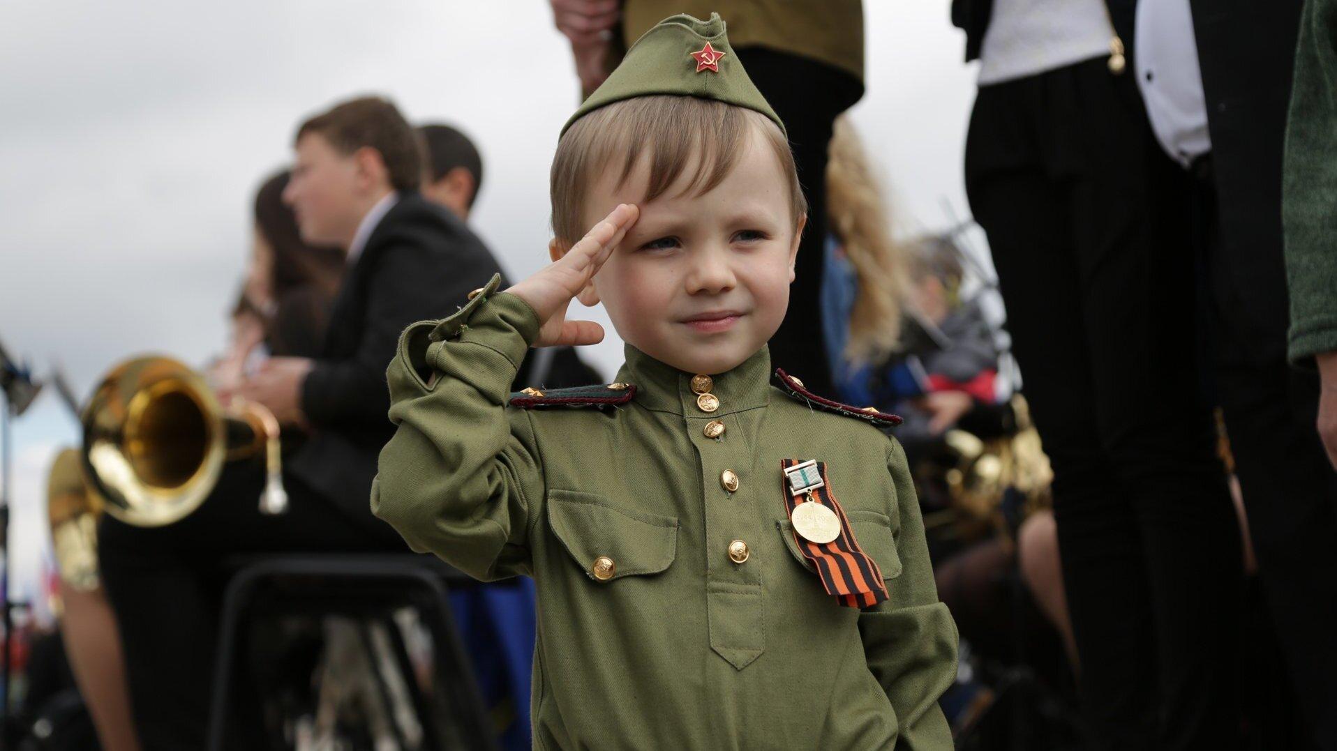 В Тверской области на 9 Мая пройдет малышковый парад