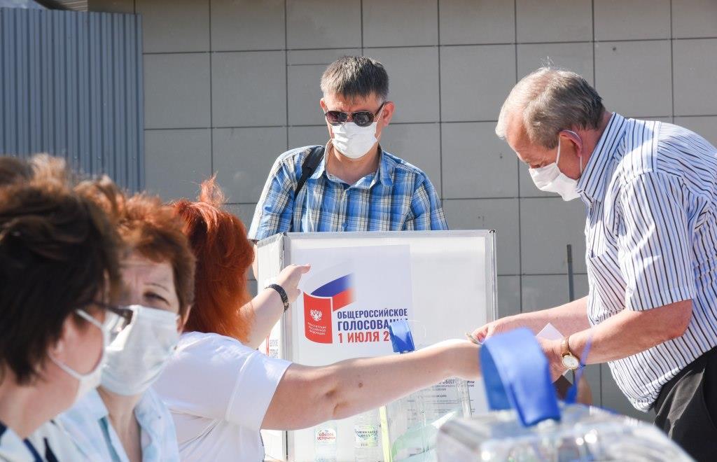 Первые проголосовавшие отмечают высокий уровень санитарной безопасности на участках - новости Афанасий