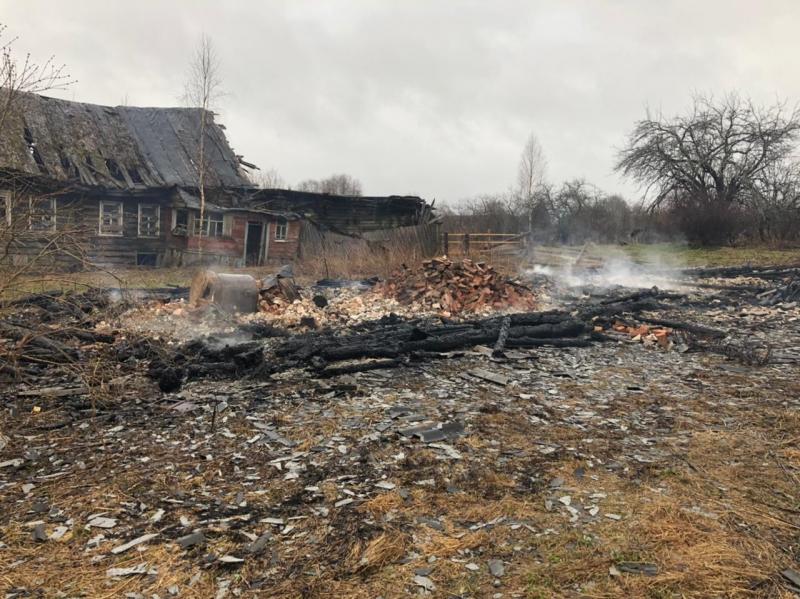 Тело погибшего мужчины нашли в сгоревшем доме в Тверской области - новости Афанасий