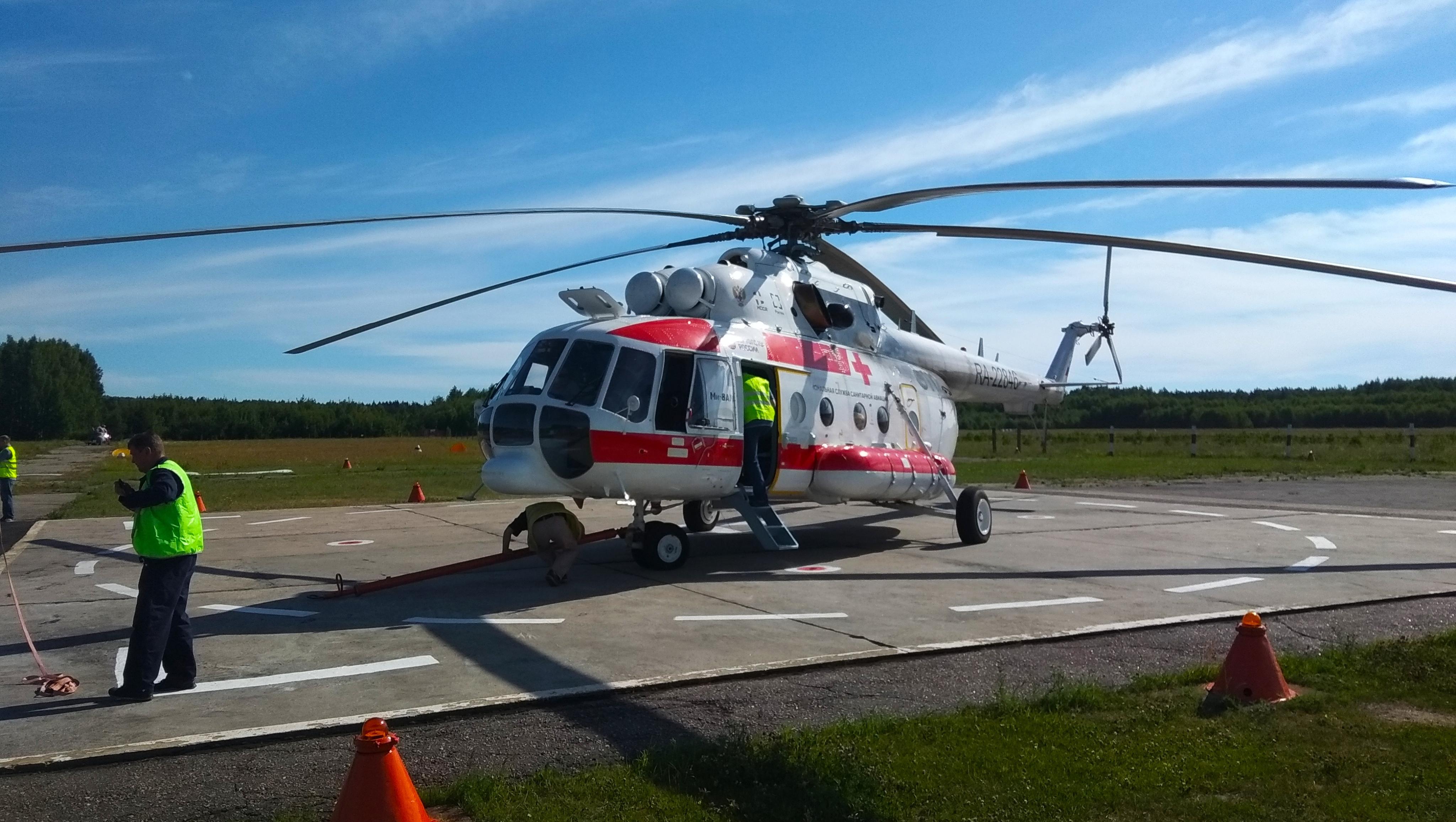 В ДОКБ Твери вертолетом доставлен раненный из травмата ребенок - новости Афанасий