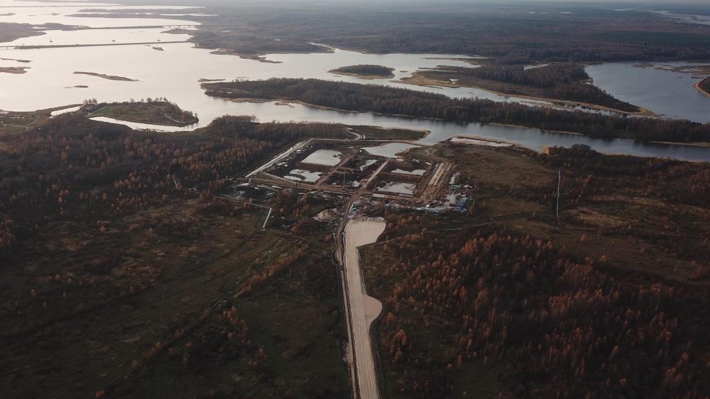 Как в Тверской области строится порт «Завидово»