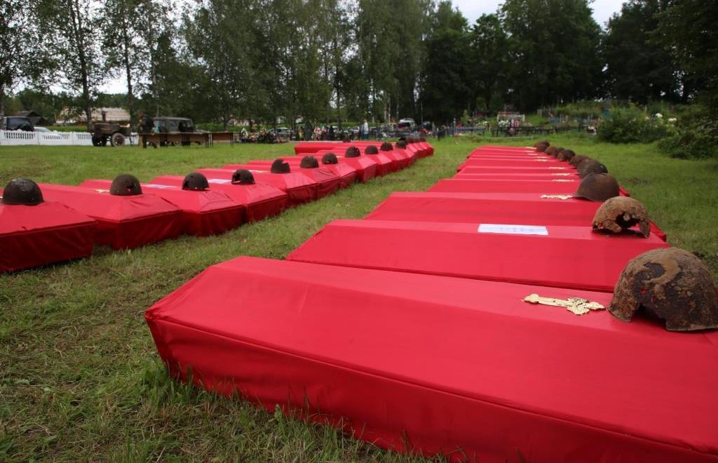 В Городе воинской доблести Белом перезахоронили останки 487 солдат - новости Афанасий