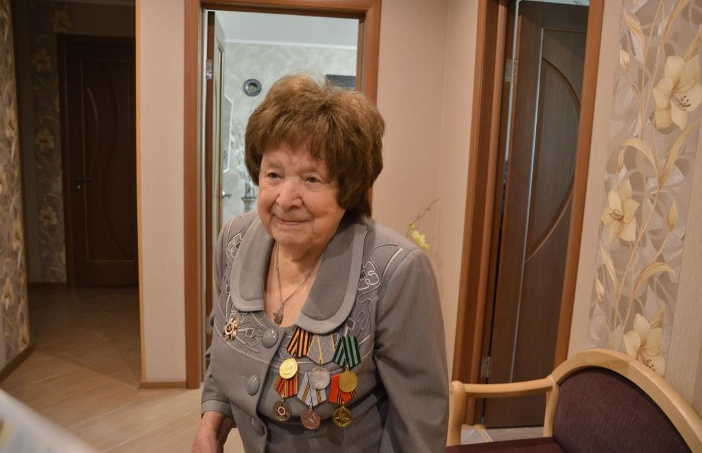 Ветерану Великой Отечественной войны Фаине Терентьевой исполнилось 100 лет - новости Афанасий