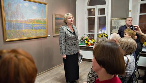 В Твери открылась галерея пейзажа имени Ефрема Зверькова / фото