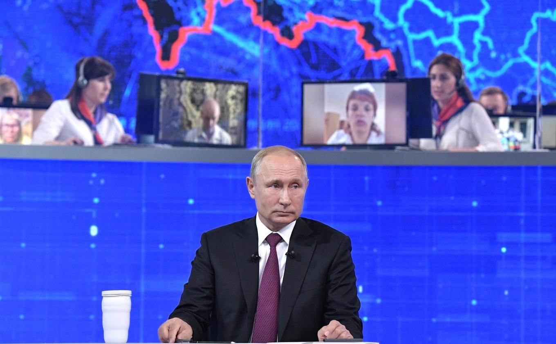 Жители Тверской области смогут задать вопрос президенту на Прямой линии