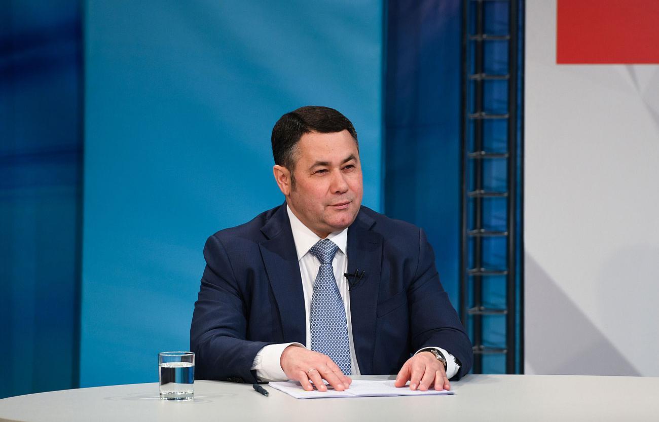 Игорь Руденя расскажет о новых проектах в прямом эфире  - новости Афанасий