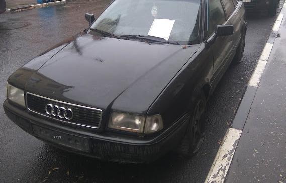 В Твери ищут владельца брошенного Audi 80 - новости Афанасий