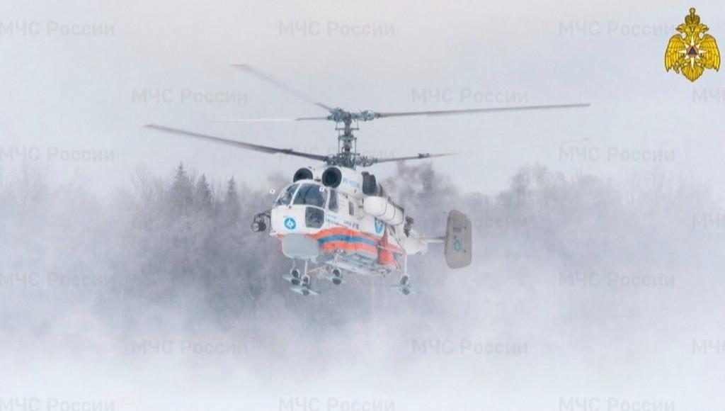 Вертолет МЧС ночью доставил пациента из Бежецка в Тверь - новости Афанасий