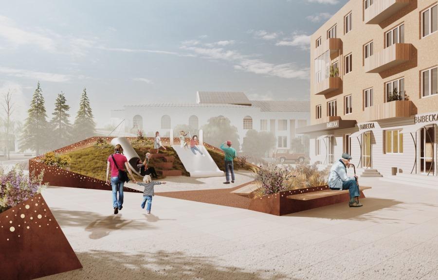 В будущее, не изменяя традициям: в Нелидове подготовлена концепция реновации центра города  - новости Афанасий