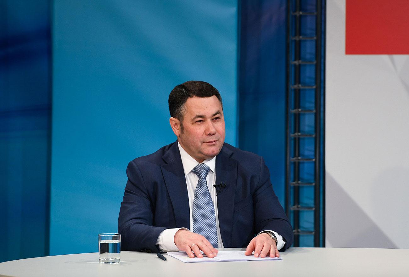 Игорь Руденя расскажет о новых проектах в прямом эфире