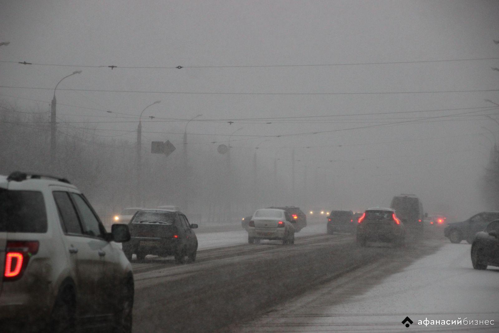 На дорогах Тверской области прогнозируют сильный гололед