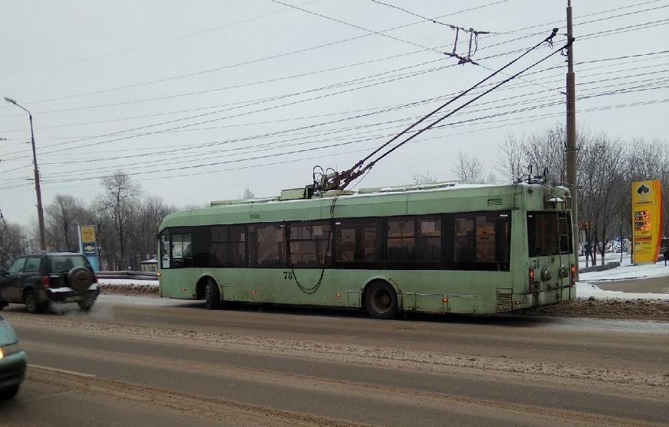 Из-за поломки троллейбуса в Южном затруднено движение  - новости Афанасий