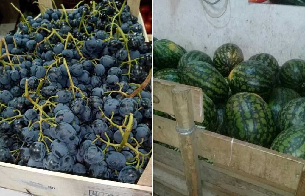 На рынках Твери обнаружены нелегальные арбузы, дыни и виноград  - новости Афанасий