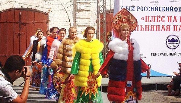 На фестивале моды Тверская область представила коллекцию по мотивам русских былин