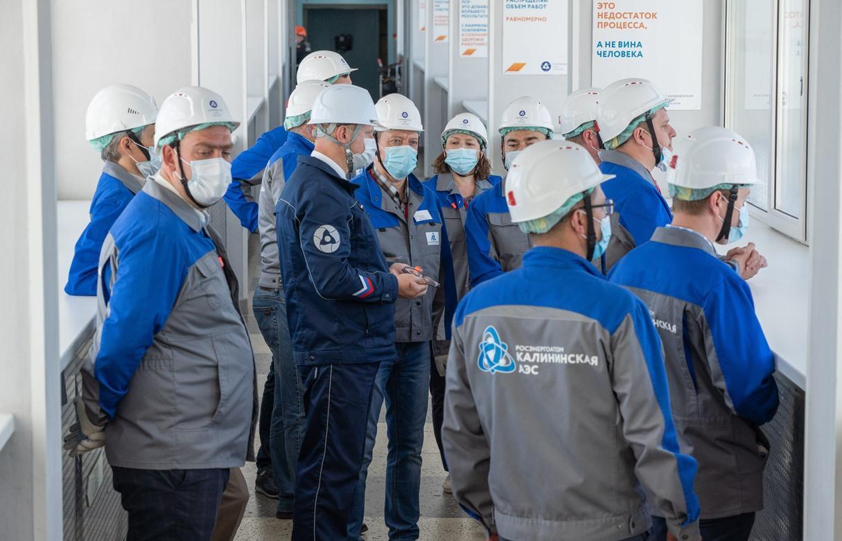 Калининская АЭС поделилась опытом развития Производственной системы «Росатома» с руководителями ТЭЦ