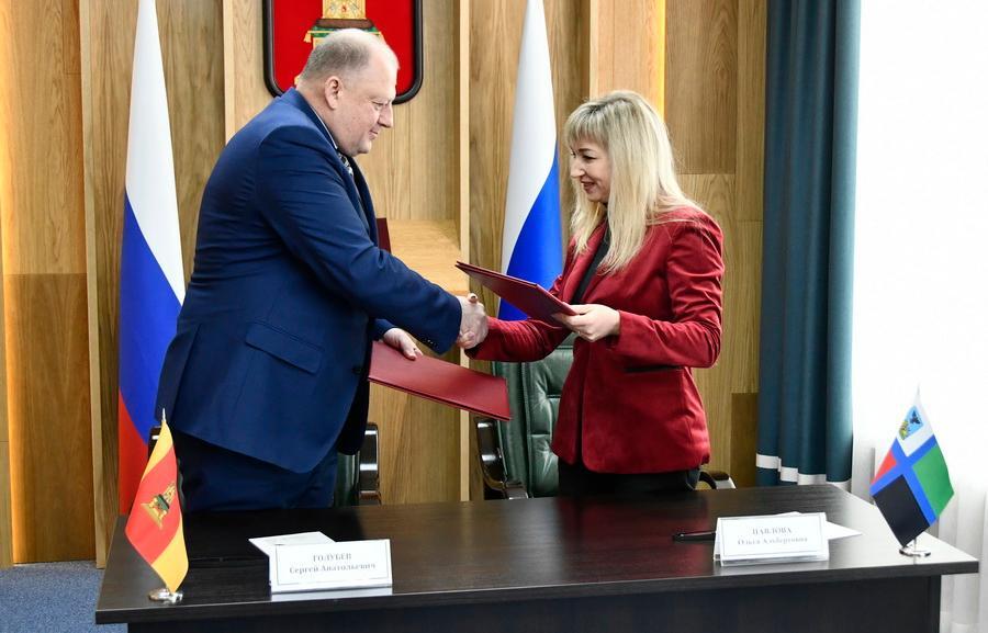 Законодательное Собрание Тверской области и Белгородская Дума подписали соглашение о сотрудничестве - новости Афанасий