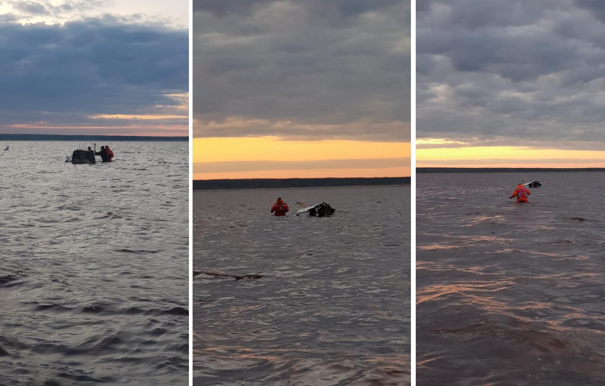 В упавшем в районе острова Мудьюг вертолете находился житель Тверской области - новости Афанасий