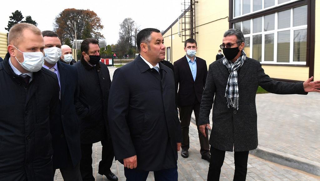 Игорь Руденя заявил о поддержке Сонковского района в реализации значимых проектов - новости Афанасий