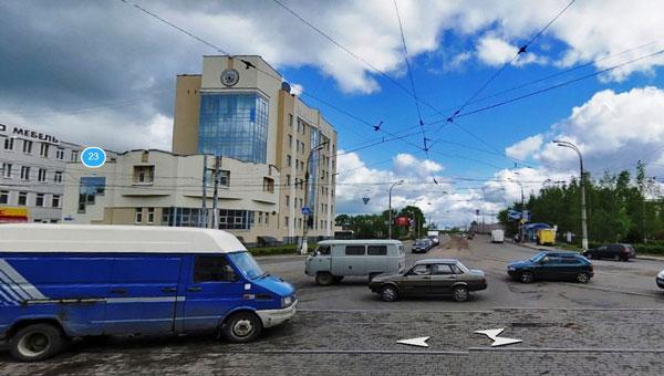 На улице Вагжанова в Твери