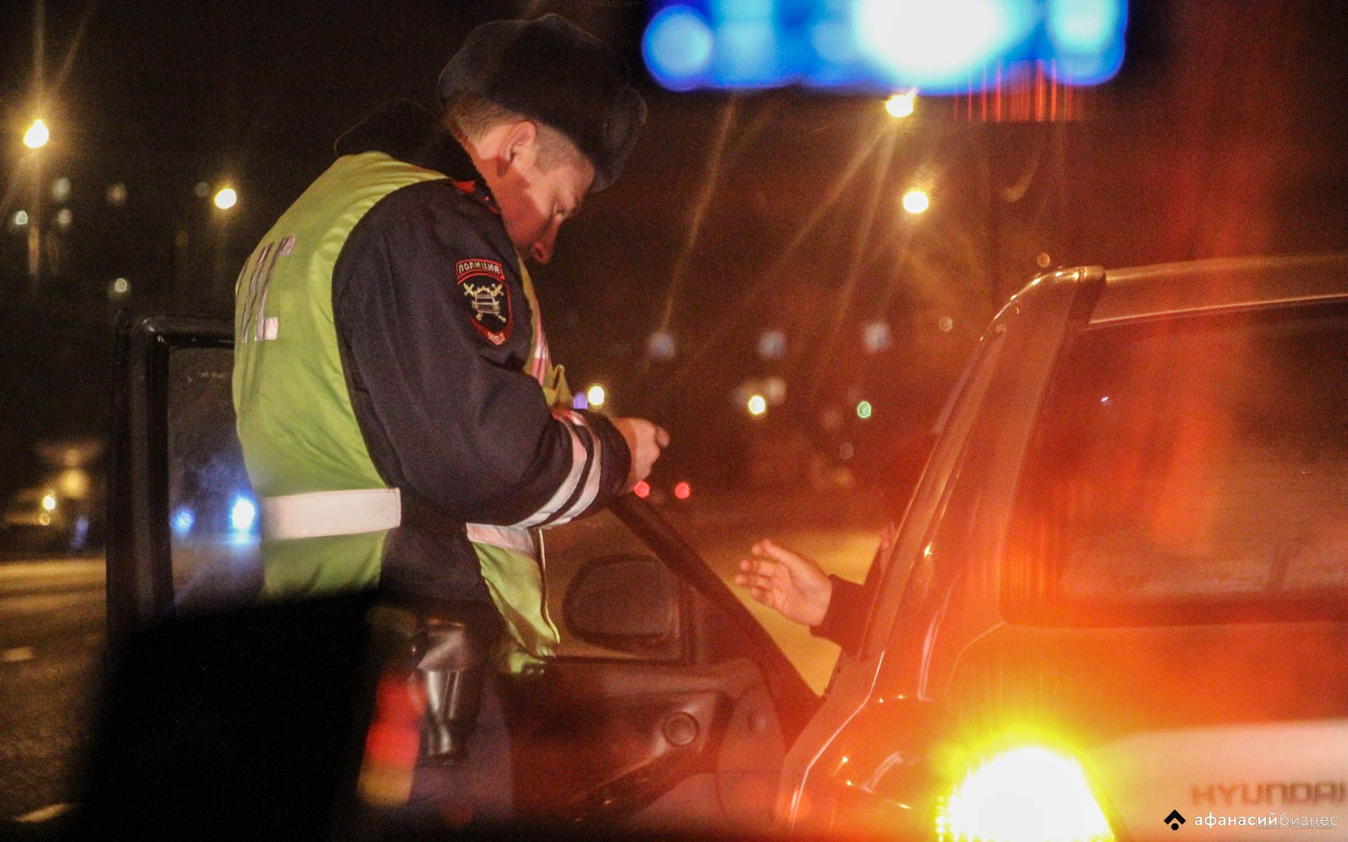 Двух водителей пришлось задержать автоинспекторам под Тверью