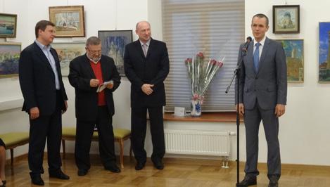 В Москве открылась выставка кимрского художника Юрия Рылеева