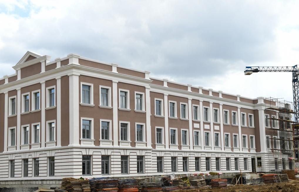В Твери показали новые здания суворовского училища - новости Афанасий