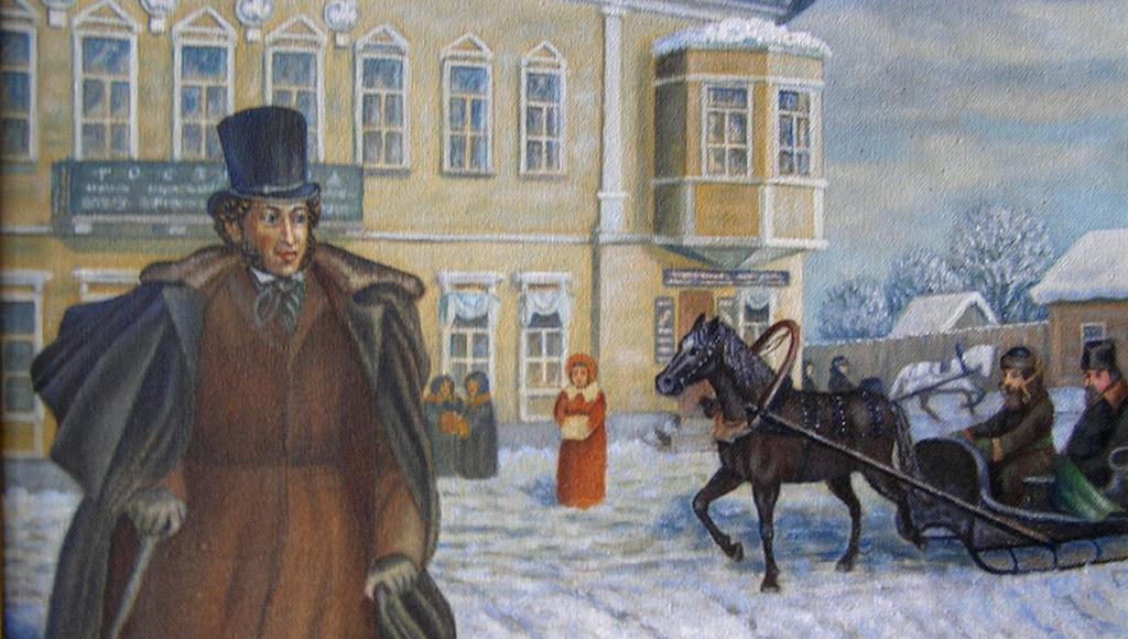 Выставка картин, посвященных А.С. Пушкину, откроется в Торжке Тверской области - новости Афанасий
