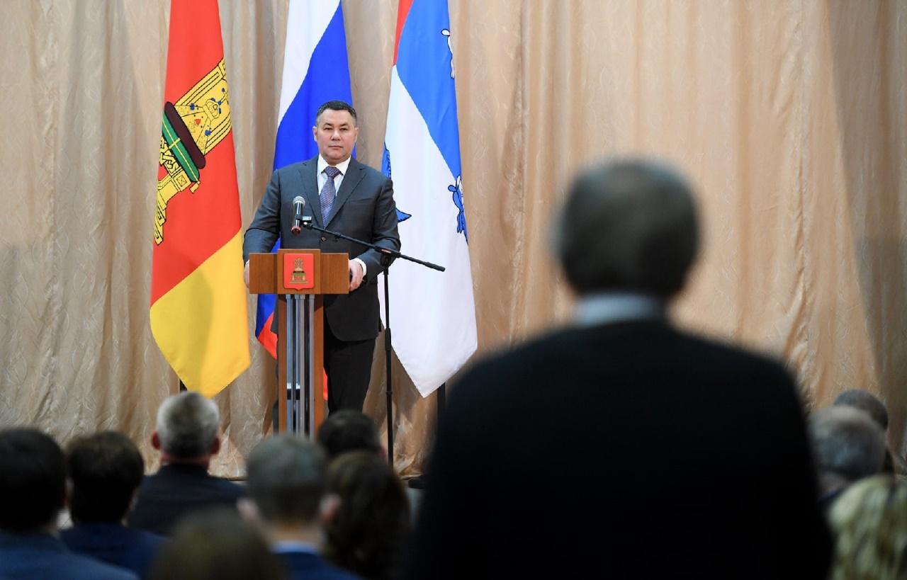 Игорь Руденя обсудил развитие Пеновского муниципального округа с местными жителями - новости Афанасий