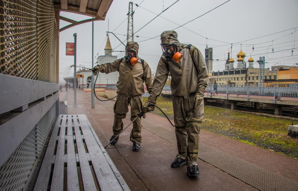 В Твери дезинфицировали железнодорожный вокзал - новости Афанасий