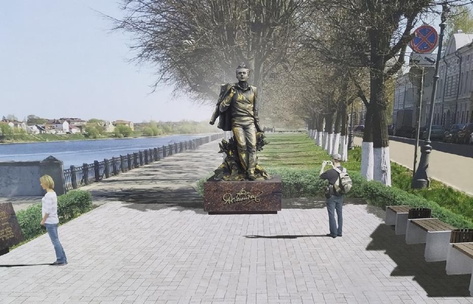 Место для памятника Дементьеву в Твери официально определено - новости Афанасий