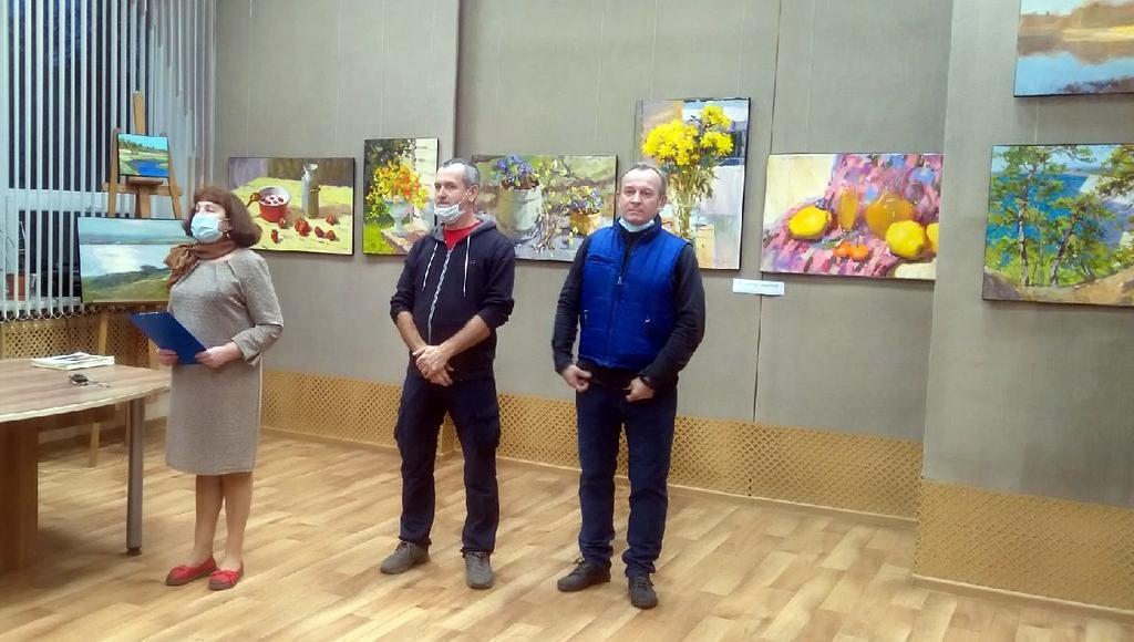 Выставка художников из Санкт-Петербурга открылась в Вышнем Волочке Тверской области - новости Афанасий