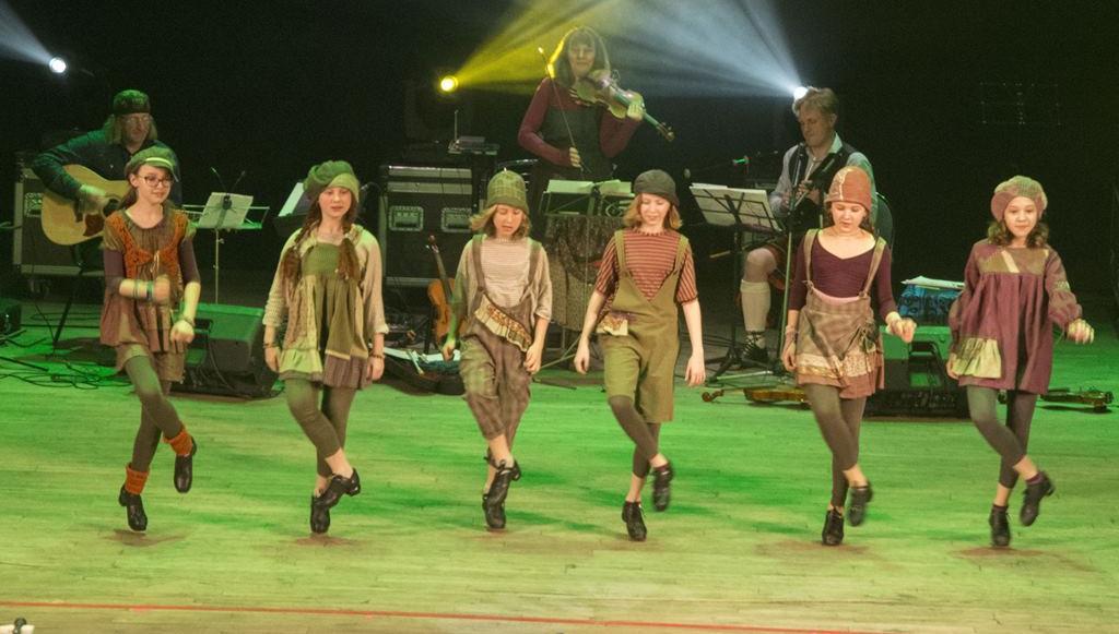 Русские частушки и ирландские танцы. В Твери прошел благотворительный концерт «St Patrick's Day»