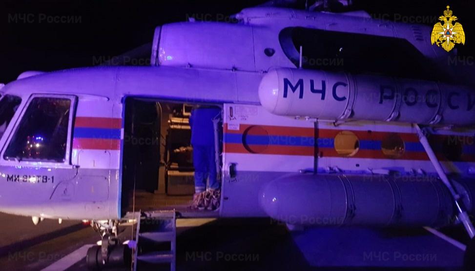 Ночью вертолет МЧС экстренно доставил в Тверь больного ребенка - новости Афанасий