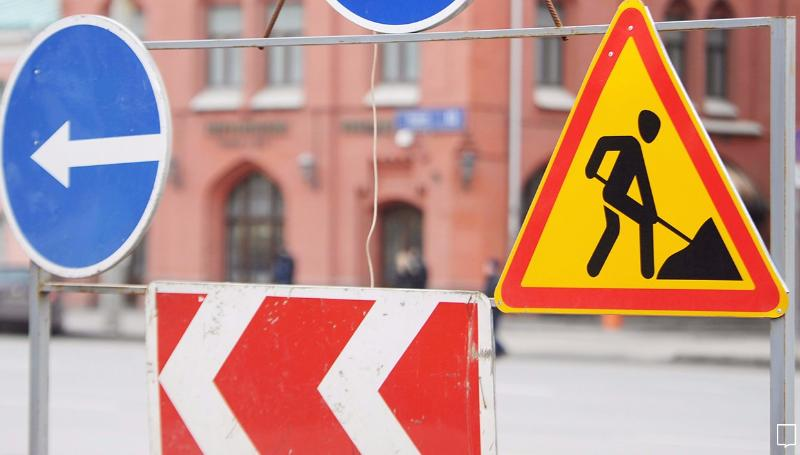 Водителей предупреждают об ограничении движения в поселке Химинститут города Твери