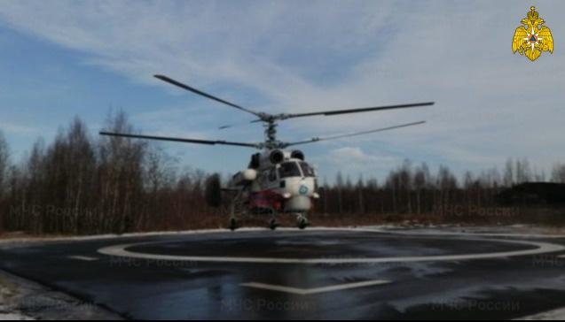 Вертолетом в Тверь доставили доставили пациентку районной больницы - новости Афанасий