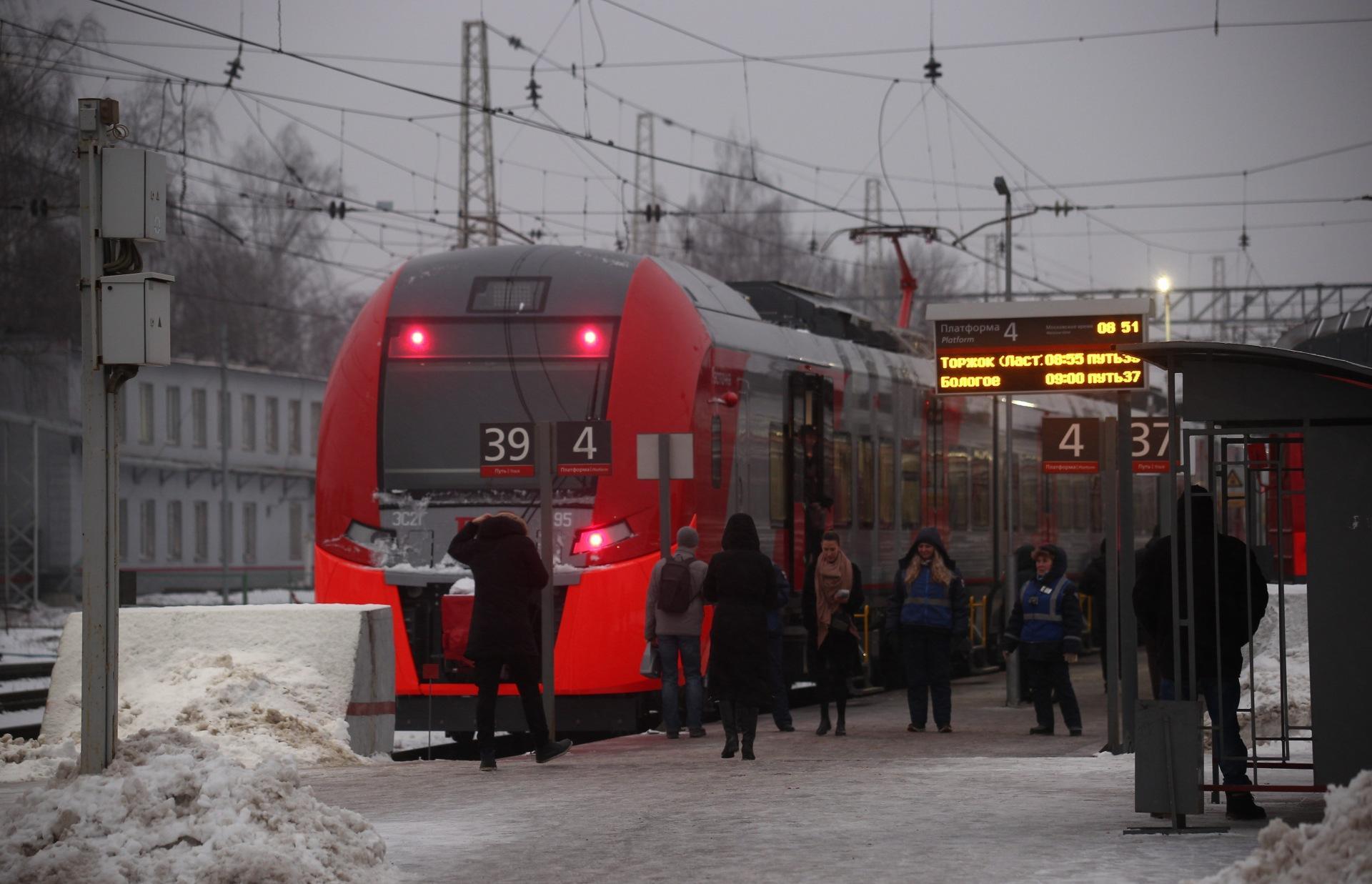 В Тверской области сбитый поездом мужчина выжил  - новости Афанасий