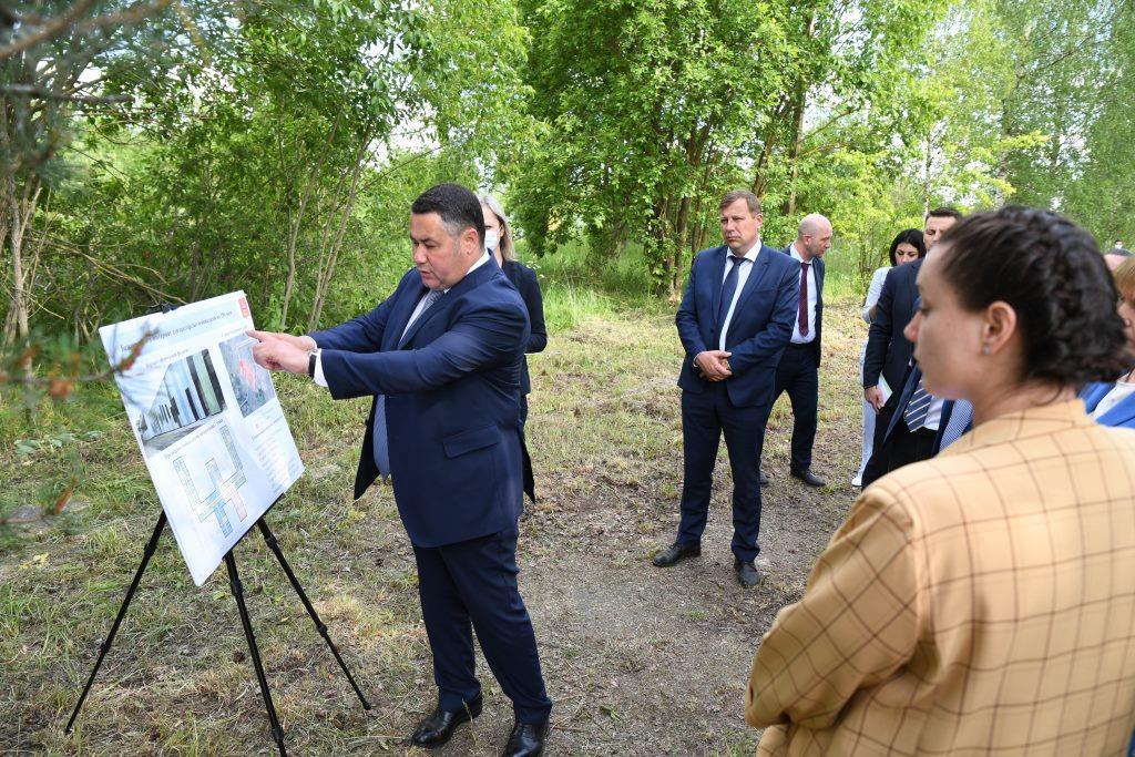 В Бежецке построят первый в Тверской области дом престарелых нового типа