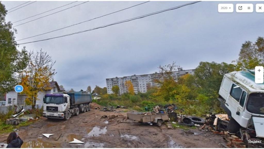 В центре Ржева Тверской области ликвидировали незаконную стоянку большегрузов - новости Афанасий