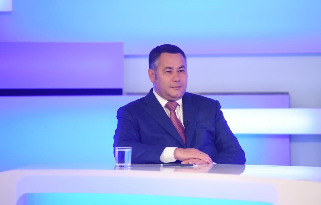 Губернатор Игорь Руденя ответил на вопросы жителей Верхневолжья