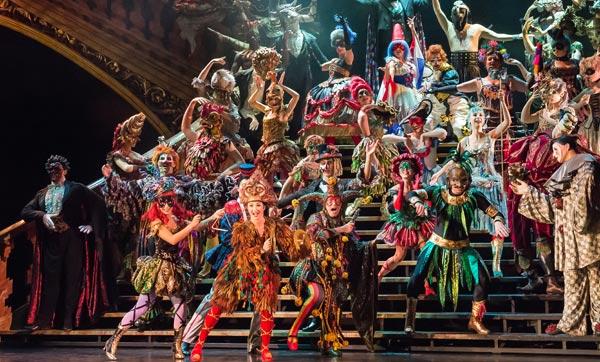 В российской постановке мюзикла «Призрак Оперы» принимают участие актеры из Твери / фото
