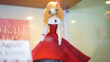 В Твери завершает свою работу выставка интерьерных кукол