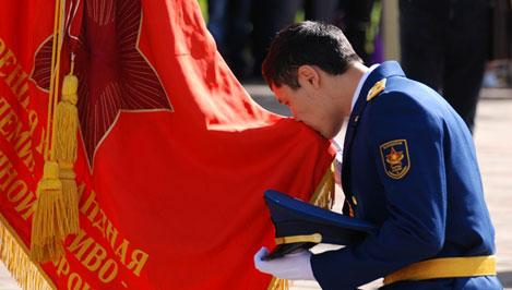 В военной академии ВКО им. Жукова в Твери состоялся торжественный выпуск