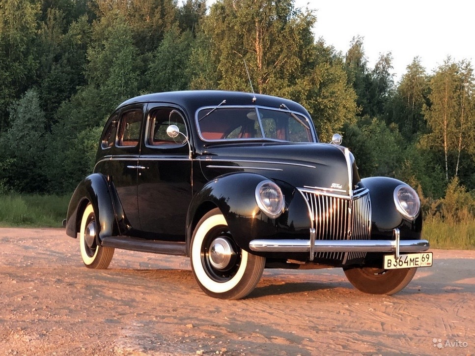 В Тверской области продают редкий автомобиль 1939 года - новости Афанасий