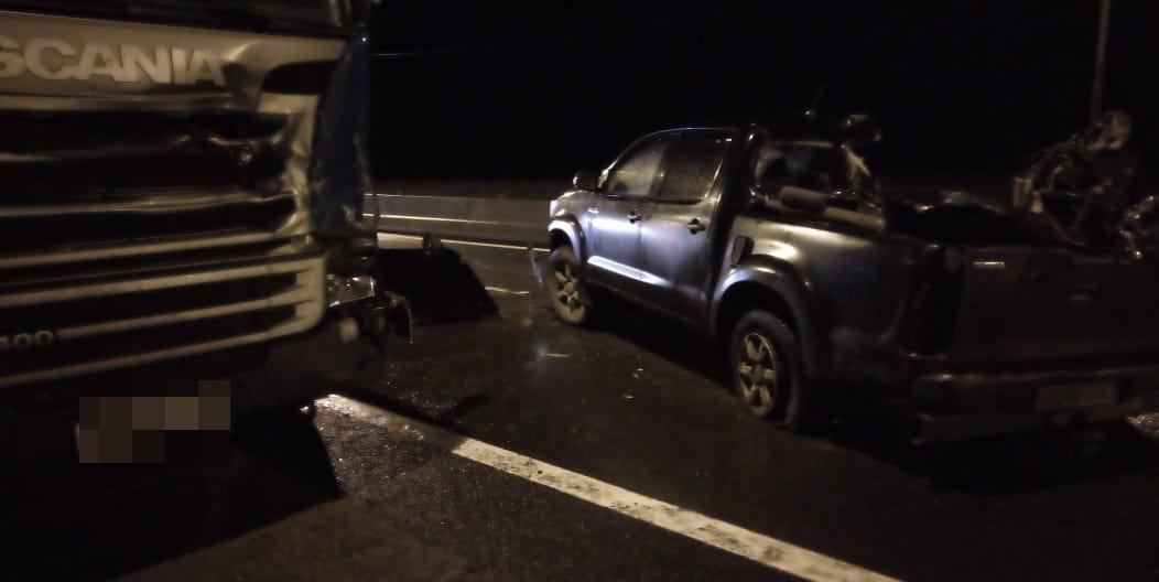 Момент трагического ДТП на трассе М10 под Тверью попал на видео очевидца - новости Афанасий